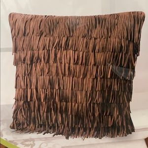 Other - FRINGE DECORATIVE/ACCENT PILLOW COVER boho farm